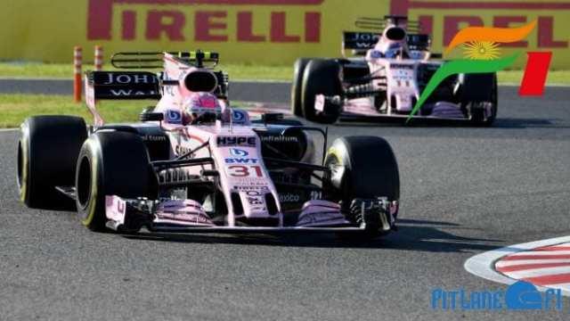 Force India - Temporada