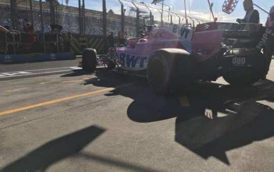 Sergio Pérez - Force India - Australia - Sábado
