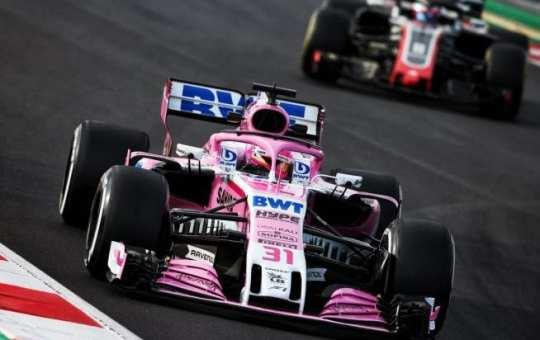 Esteban Ocon - Force India - Australia - Jueves