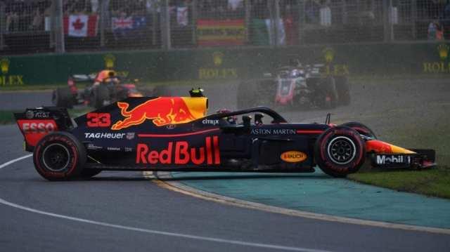 max verstappen - red bull - f1 - gp de australia 2018 carrera