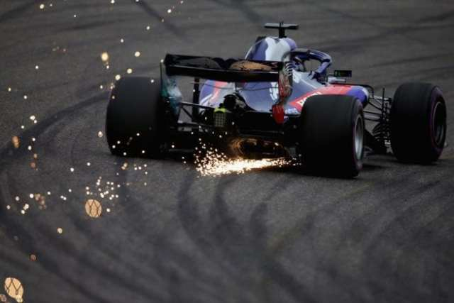 Brendon Hartley - Toro Rosso - China - Viernes