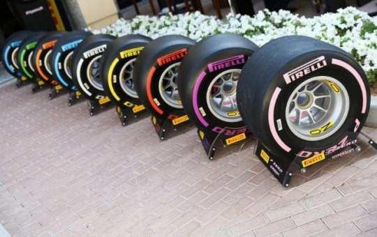 Neumáticos Pirelli 2018