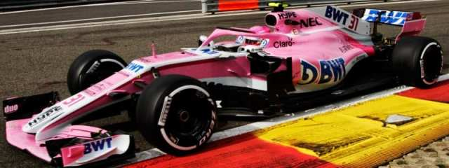 Esteban Ocon - Force India - Bélgica - Viernes