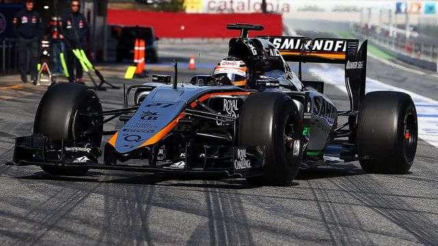 Nico Hülkenberg - Force India - Test Invernales 2015