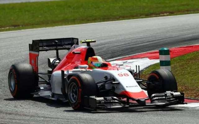 Roberto Merhi - Manor - Malasia 2015