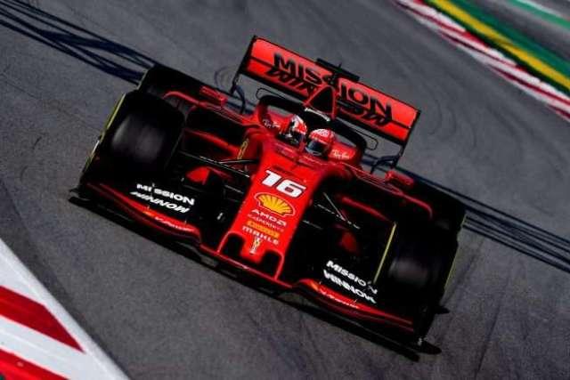 Charles Leclerc - Ferrari - Test - Barcelona