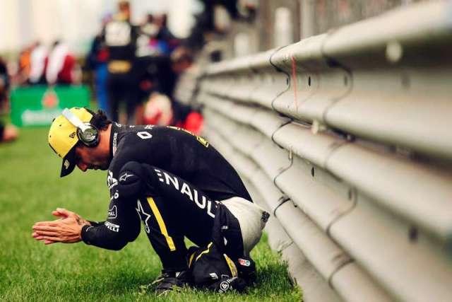 Ricciardo en el Gran Premio de China