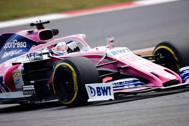 sergio perez - racing point - f1 - gp de china 2019 f1 libres