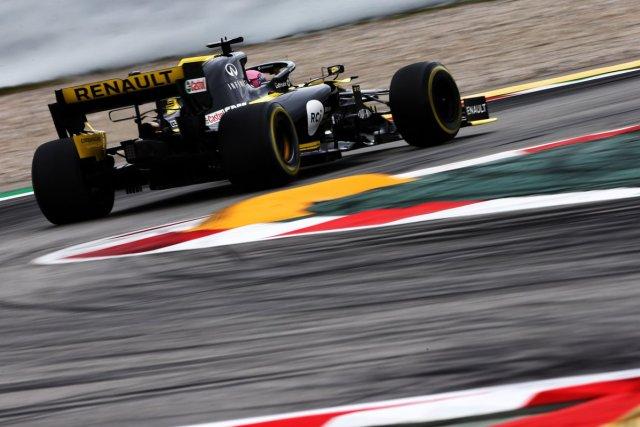 Daniel Ricciardo - Renault - España - Domingo