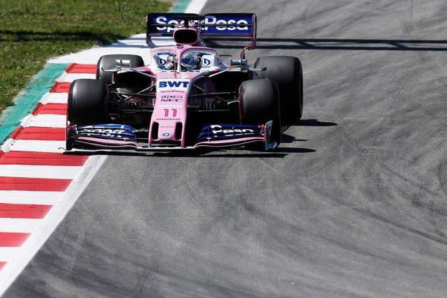 Sergio Pérez - Racing Point - España - Domingo
