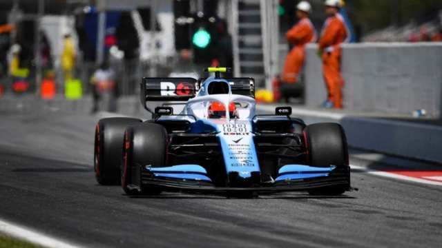 Robert Kubica - williams - gp de españa 2019 f1 - clasificación