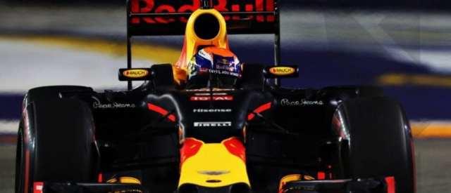 Verstappen en el Gran Premio de Singapur