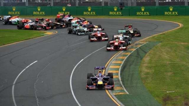 GP Australia 2013 Salida