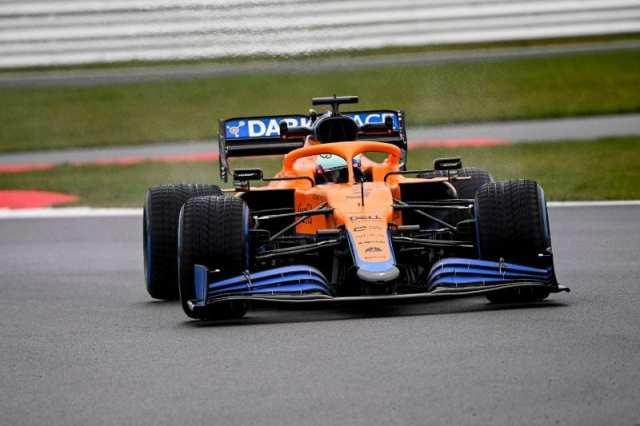 GALERÍA: Filming day de McLaren con el MCL35M