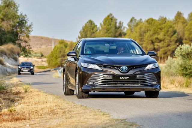 El Toyota Camry alcanza la octava generación