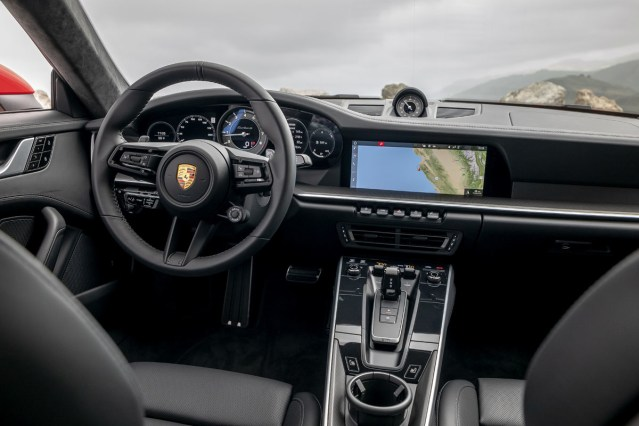 Interior Porsche 911 Turbo S