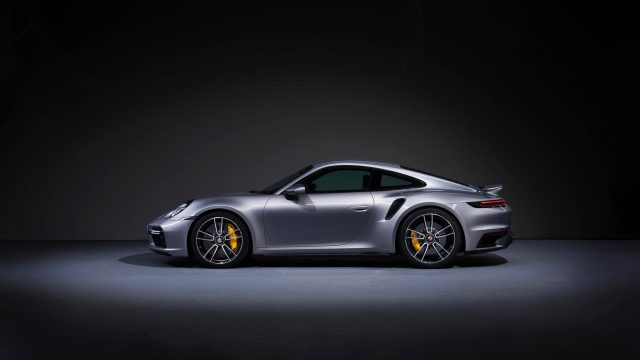 Porsche 911 Turbo S visión lateral