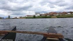 Canoeing in Lake Zazari