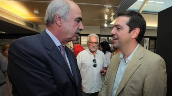 Meimarakis Tsipras