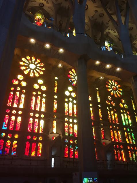 Sagrada Familia windows