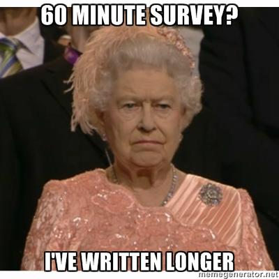 survey-unimpressed-queen-meme