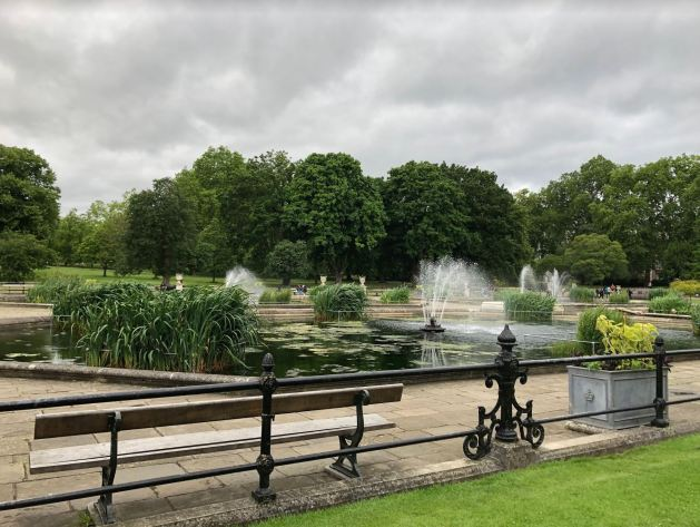 Italian Gardens in Hyde Park