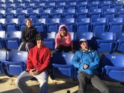Staying warm during Sectionals 2017