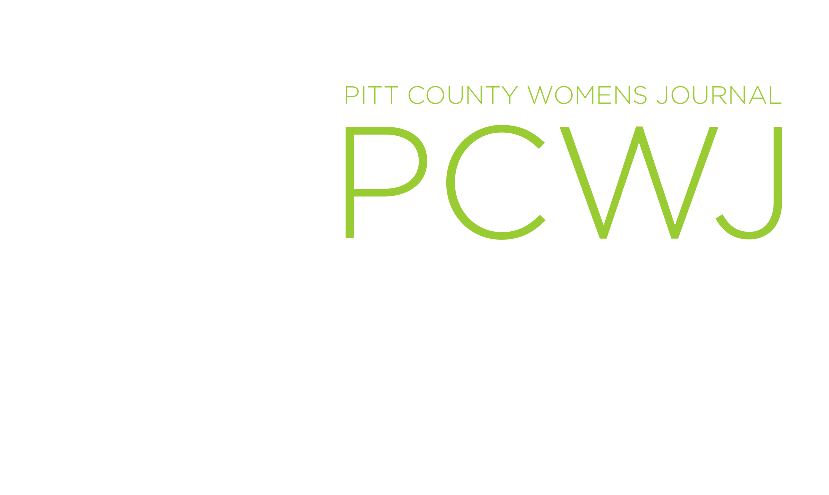 Pitt County Women's Journal
