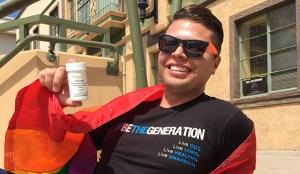 Activist Rick Cervantes