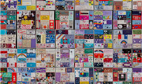 sample of AIDS Quilt panels