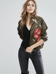 http://www.asos.com/a-star-is-born/a-star-is-born-embroided-bomber-jacket-with-rose-detail-and-beads/prd/6915164?iid=6915164&clr=Khaki&SearchQuery=embroidered%20jacket&pgesize=36&pge=0&totalstyles=71&gridsize=3&gridrow=10&gridcolumn=2