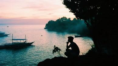 Sunset at Alona Beach, Panglao, Bohol
