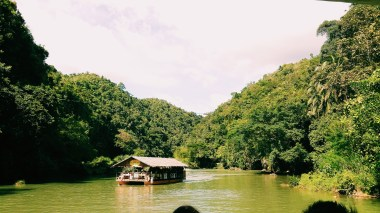 Floating Restaurant at Loboc River