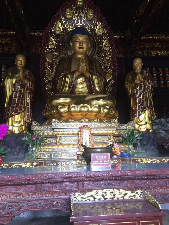 One of the altars the monks pray to