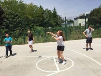 Basketball at the Children's Village