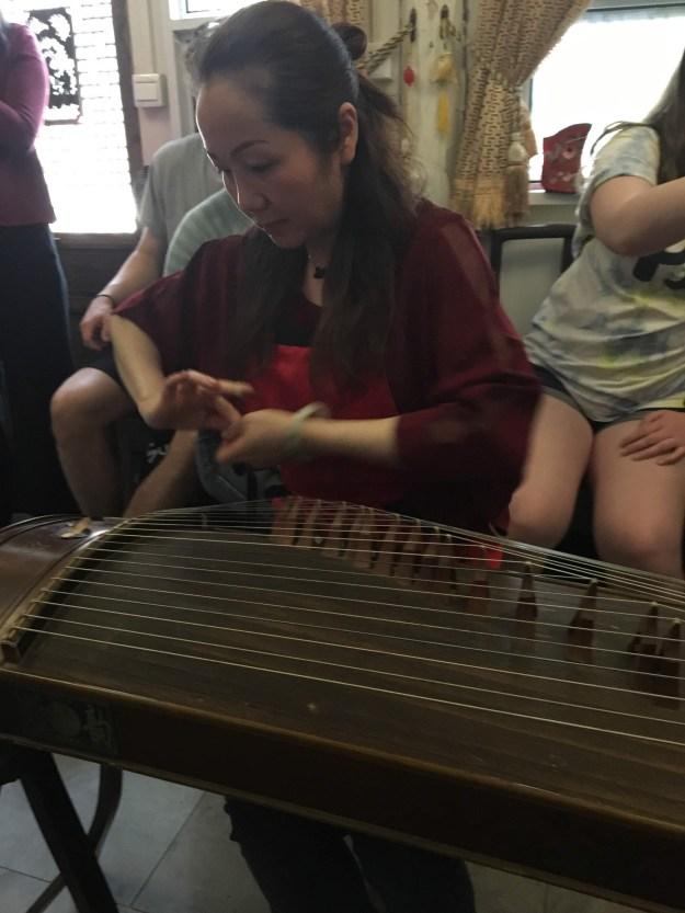 Guzheng or Chinese zither