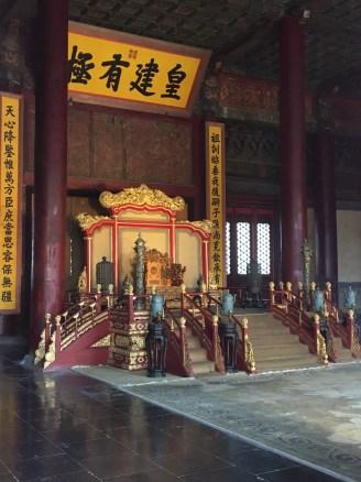 Secondary throne room