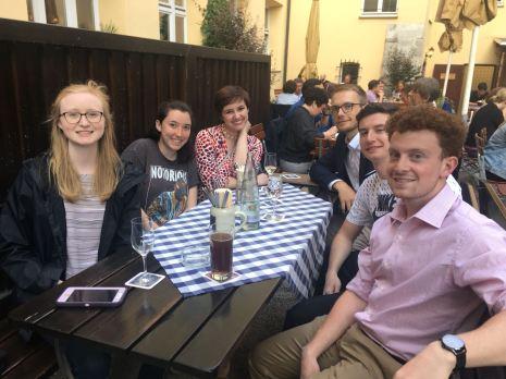Dinner in Regensburg, Day 4