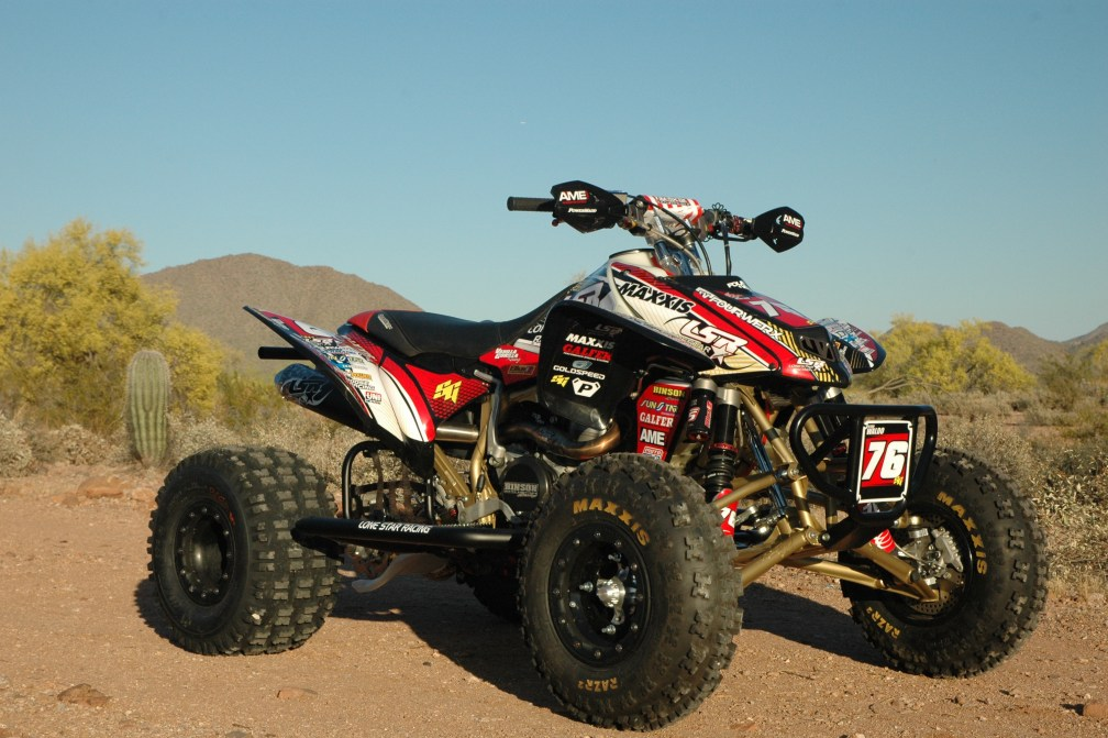 Honda trx450r build from ryan waldo pit traffic - Spider graphix ...