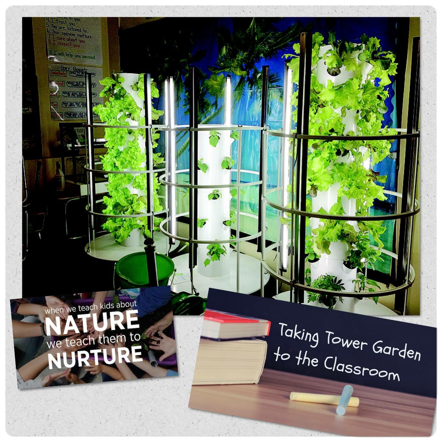 Contemporary Juice Plus Tower Garden Ensign Garden Design and