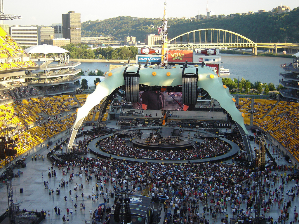 U2 at Heinz Field