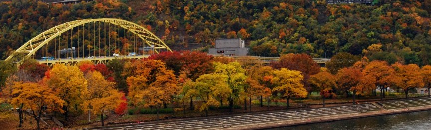 Fall Foliage Around Pittsburgh