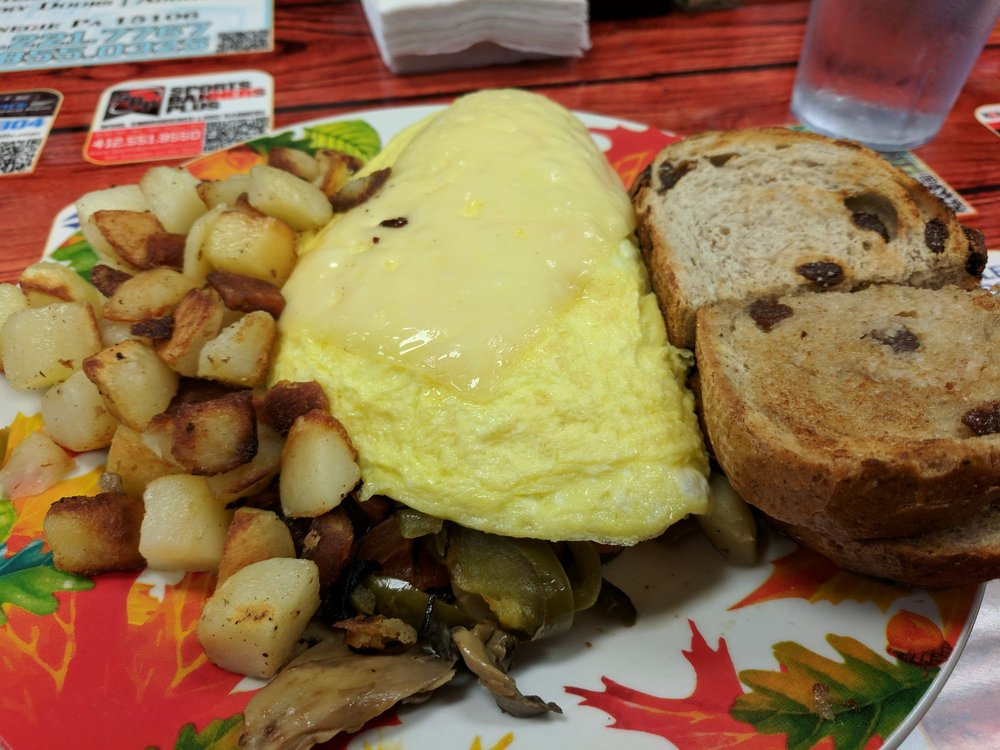 Omelets in Pittsburgh