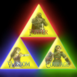 A Golden Triangle