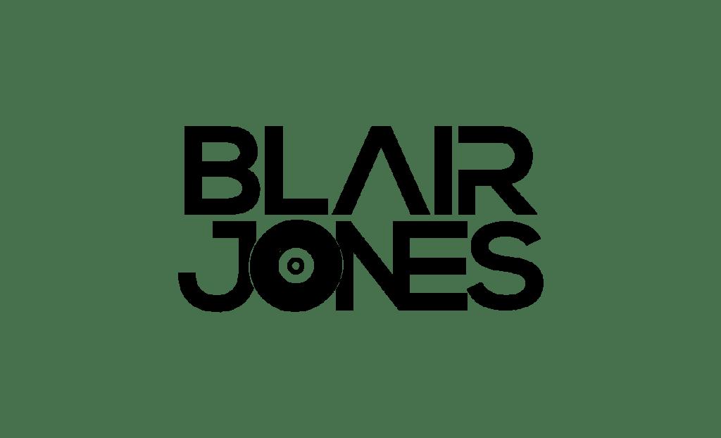 Dj Blair Jones Logo Black