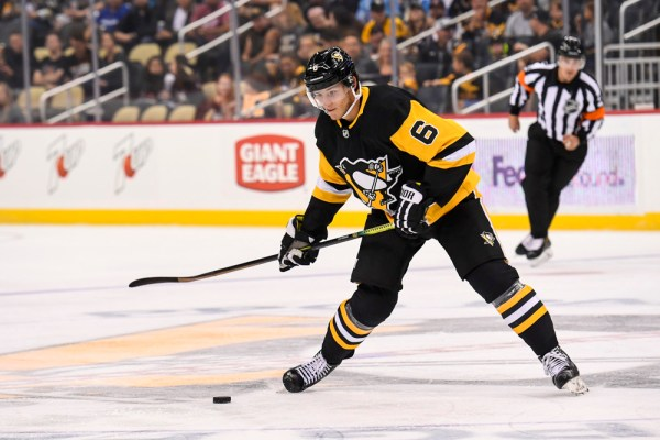 Penguins Marino, Lafferty Make NHL Debuts (Updating)