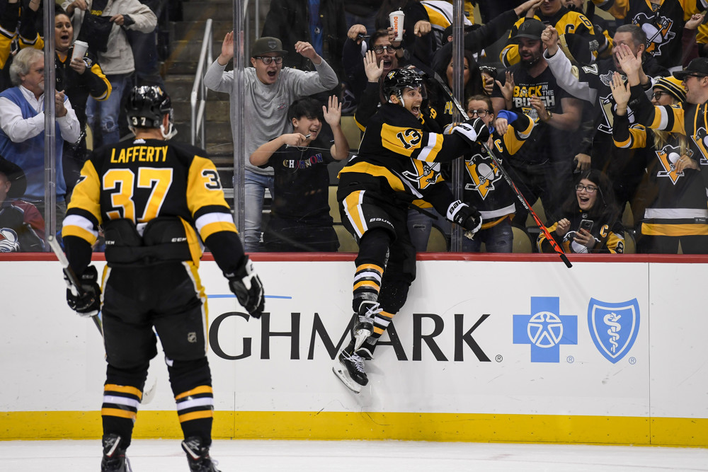 'It's Fun Right Now,' Unified Penguins Play for Each Other