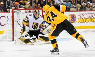 Penguins score Dominik Kahun