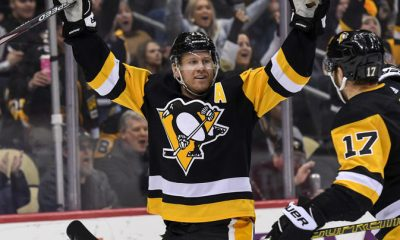 Pittsburgh Penguins score Patric Hornqvist