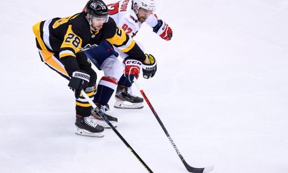 Pittsburgh Penguins Marcus Pettersson evgeny kuznetsov
